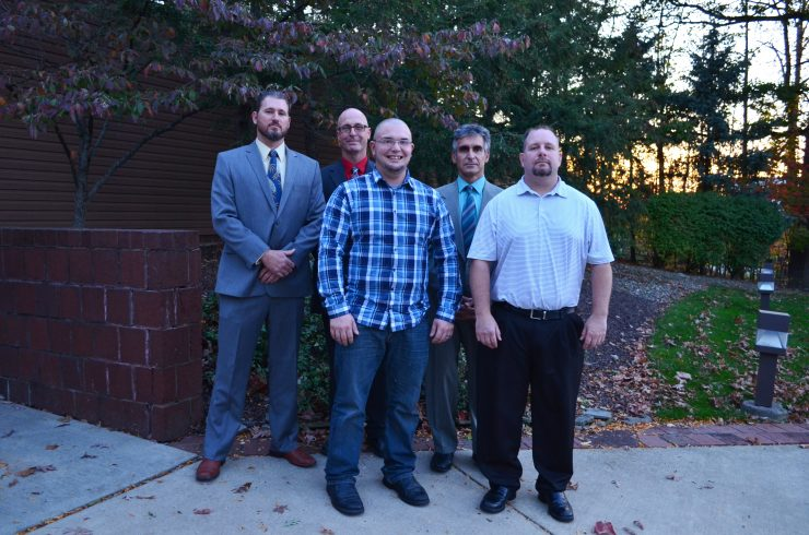 Drywall Finishers and Tapers from local 505 are all smiles at the graduation