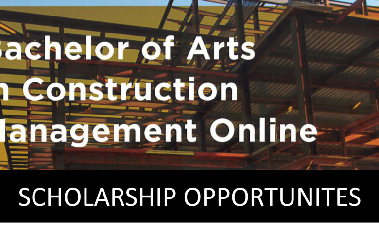 Scholarships Available for a B.A. in Construction Management Online from Rowan University