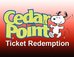 Cedar Point Ticket Redemption